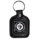 Siskiyou Buckle HLS155 Winnipeg Jets; Leather Key Chain