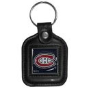 Siskiyou Buckle HLS30 Montreal Canadiens? Square Leather Key Chain