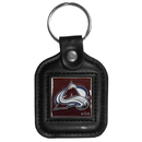 Siskiyou Buckle HLS5 Colorado Avalanche? Square Leather Key Chain