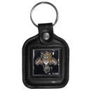 Siskiyou Buckle HLS95 Florida Panthers? Square Leather Key Chain