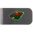 Siskiyou Buckle Minnesota Wild Logo Bottle Opener Money Clip, HMC145BP