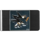 Siskiyou Buckle HMCL115 NHL Money Clip - San Jose Sharks