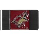 Siskiyou Buckle HMCL45 Arizona Coyotes? Steel Money Clip