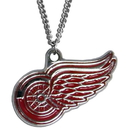 Siskiyou Buckle HN110N Detroit Red Wings? Chain Necklace