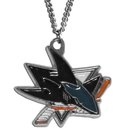 Siskiyou Buckle HN115N San Jose Sharks? Chain Necklace