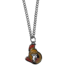 Siskiyou Buckle HN120SC Ottawa Senators Chain Necklace with Small Charm