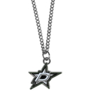 Siskiyou Buckle HN125SC Dallas Stars Chain Necklace with Small Charm