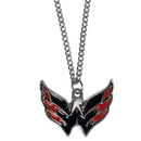 Siskiyou Buckle HN150SC Washington Capitals Chain Necklace with Small Charm