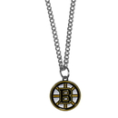 Siskiyou Buckle HN20SC Boston Bruins Chain Necklace with Small Charm