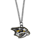Siskiyou Buckle HN40SC Nashville Predators Chain Necklace with Small Charm