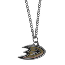 Siskiyou Buckle HN55SC Anaheim Ducks Chain Necklace with Small Charm