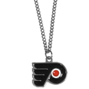 Siskiyou Buckle HN65SC Philadelphia Flyers Chain Necklace with Small Charm
