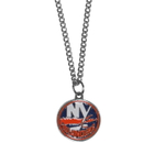 Siskiyou Buckle HN70SC New York Islanders Chain Necklace with Small Charm