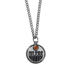 Siskiyou Buckle HN90SC Edmonton Oilers Chain Necklace with Small Charm