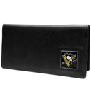 Siskiyou Buckle HNC100BX Pittsburgh Penguins? Leather Checkbook Cover