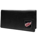 Siskiyou Buckle HNC110BX Detroit Red Wings? Leather Checkbook Cover