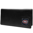 Siskiyou Buckle HNC30BX Montreal Canadiens? Leather Checkbook Cover