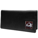 Siskiyou Buckle HNC5BX Colorado Avalanche? Leather Checkbook Cover