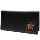 Siskiyou Buckle HNC60BX Calgary Flames? Leather Checkbook Cover