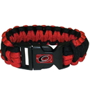 Siskiyou Buckle HSUB135 Carolina Hurricanes Survivor Bracelet