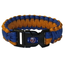 Siskiyou Buckle HSUB70 New York Islanders Survivor Bracelet