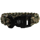 Siskiyou Buckle HSUB75GC Los Angeles Kings Camo Survivor Bracelet