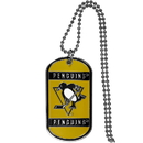Siskiyou Buckle HTN100 Pittsburgh Penguins Tag Necklace