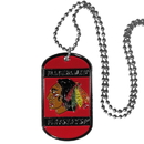 Siskiyou Buckle HTN10 Chicago Blackhawks Tag Necklace
