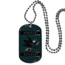 Siskiyou Buckle HTN115 San Jose Sharks Tag Necklace