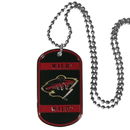 Siskiyou Buckle HTN145 Minnesota Wild Tag Necklace