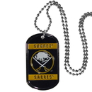 Siskiyou Buckle HTN25 Buffalo Sabres Tag Necklace