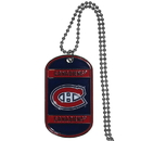 Siskiyou Buckle HTN30 Montreal Canadiens Tag Necklace