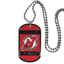 Siskiyou Buckle HTN50 New Jersey Devils Tag Necklace