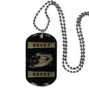 Siskiyou Buckle HTN55 Anaheim Ducks Tag Necklace
