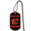 Siskiyou Buckle HTN60 Calgary Flames Tag Necklace