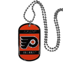 Siskiyou Buckle HTN65 Philadelphia Flyers Tag Necklace