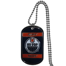 Siskiyou Buckle HTN90 Edmonton Oilers Tag Necklace