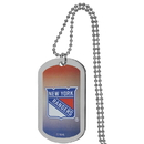 Siskiyou Buckle New York Rangers Team Tag Necklace, HTNP105