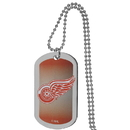 Siskiyou Buckle Detroit Red Wings Team Tag Necklace, HTNP110