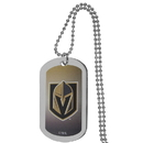 Siskiyou Buckle Vegas Golden Knights Team Tag Necklace, HTNP165