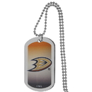 Siskiyou Buckle Anaheim Ducks Team Tag Necklace, HTNP55