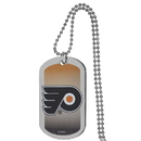 Siskiyou Buckle Philadelphia Flyers Team Tag Necklace, HTNP65