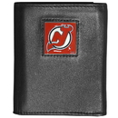 Siskiyou Buckle HTR50 New Jersey Devils? Deluxe Leather Tri-fold Wallet Packaged in Gift Box