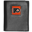 Siskiyou Buckle HTR65 Philadelphia Flyers? Deluxe Leather Tri-fold Wallet Packaged in Gift Box