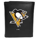 Siskiyou Buckle Pittsburgh Penguins Tri-fold Wallet Large Logo, HTRL100