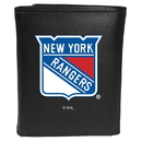 Siskiyou Buckle New York Rangers Tri-fold Wallet Large Logo, HTRL105