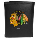 Siskiyou Buckle Chicago Blackhawks Tri-fold Wallet Large Logo, HTRL10