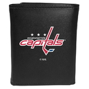 Siskiyou Buckle Washington Capitals Tri-fold Wallet Large Logo, HTRL150