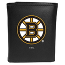 Siskiyou Buckle Boston Bruins Tri-fold Wallet Large Logo, HTRL20