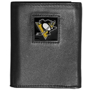 Siskiyou Buckle HTRN100 Pittsburgh Penguins? Leather Tri-fold Wallet